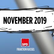 """Header für """"Aktuelle Anträge der SPD-Fraktion Kassel""""; Stand: 11.2019"""
