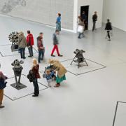 Menschen auf der documenta 2017