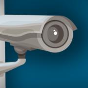 Überwachungskamera (Copyright: Macrovector via Freepik)